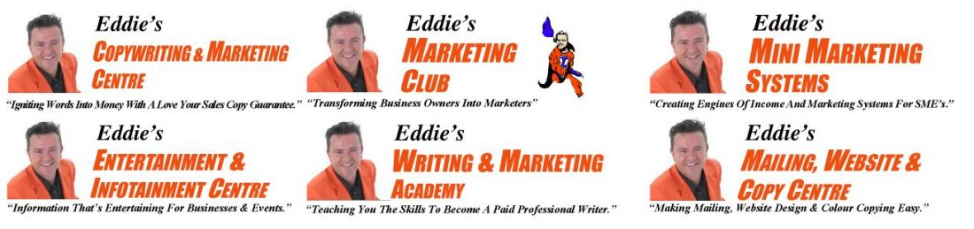 Eddies Copywriting and Marketing Centre Tips