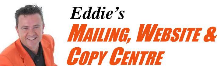 Mailing & Website Copy Centre Services, Creative Copywriting & Content Solutions, Nerang, Gold Coast.Image