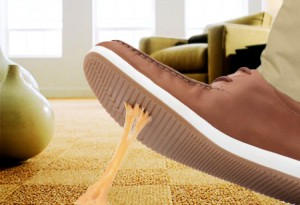 Encore Carpets can remove gum & wine stains from your carpet