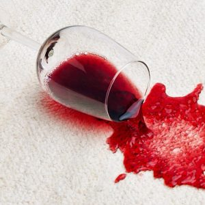Remove wine form your carpet with Encore Carpets