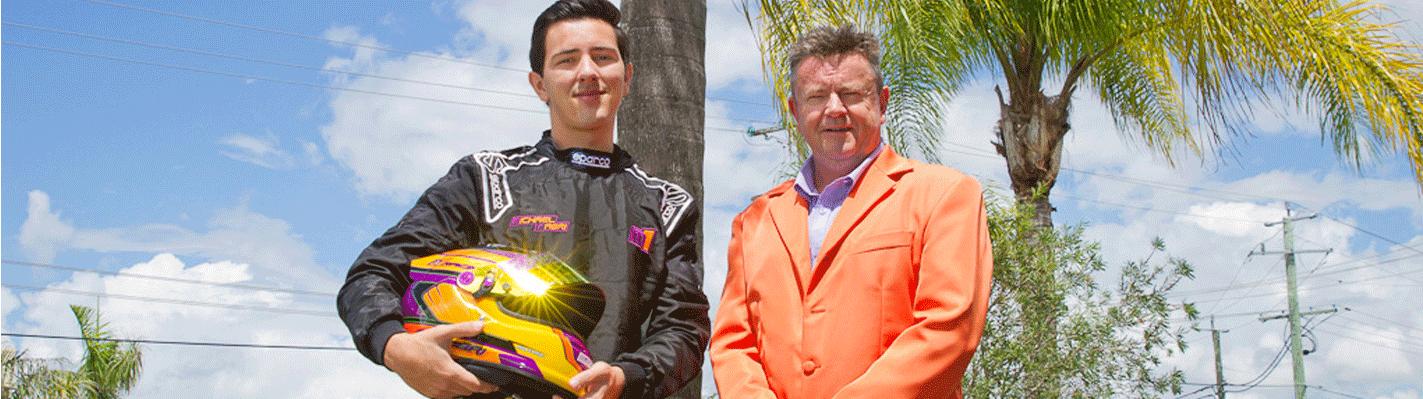 ECMC Sponsors Michal Fabri For Cams Jayco Formula 4