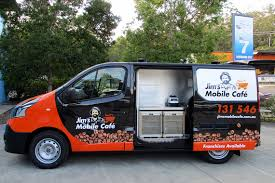 Jims Mobile Cafe Van Image Copywriting Case study