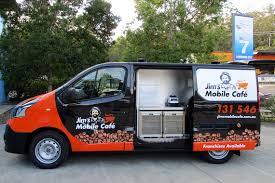 Jims Mobile Cafe Van Image Copywriting Case study