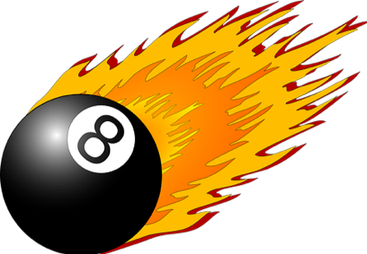 Eight ball graphic image Tips To Manage Your Copywriting Income