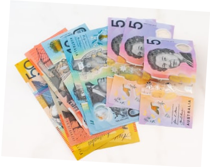 Image of Australian notes and currency on creative copywriting Tips To Improve Your Business Quotes blog