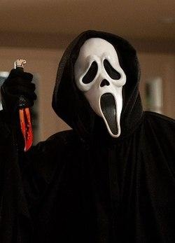 Marketing Nightmare Ghostface Scream Movie Image