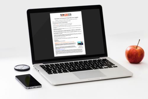 Lead Generation Prospecting Letter Product Preview Image