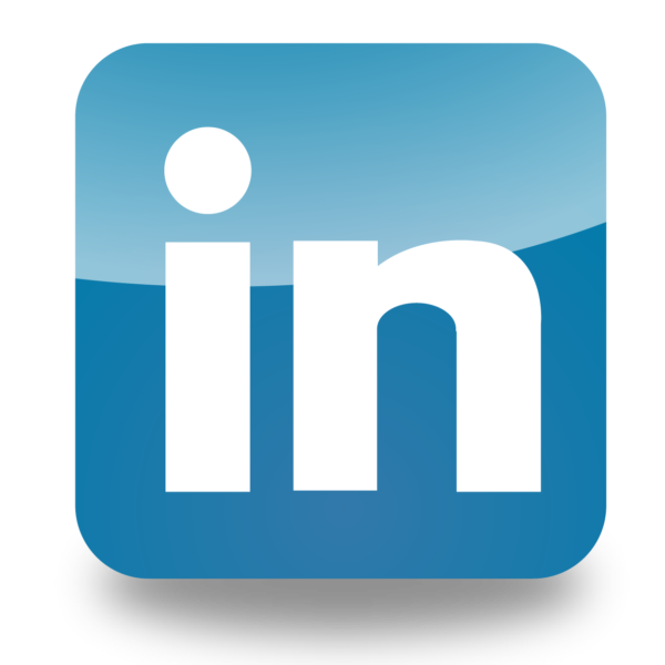 Image of blue style LinkedIn lofo on Creative Copywritng & Content Solutions LinkedIn copywriting services page